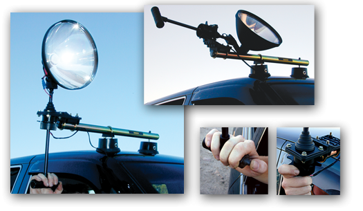Remote Mount Spotlights