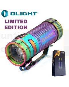 Olight S Mini Titanium LED Torch, 550Lm
