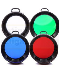 35mm Torch Filters - Olight M20 in Green