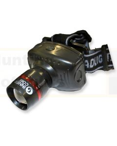Innercore Black Zoom LED Headlamp