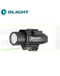 Olight FOL-BALDRP-B BALDR Pro Rail Mount Light with Green Laser - 1350 lm