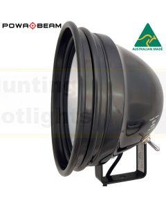 "Powa Beam PL175WB-250 Halogen 175mm/7"" QH 250W Spotlight with Bracket"