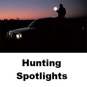 Lightforce RM240 Remote Mount 240mm Halogen 12V 100W Halogen Spotlight