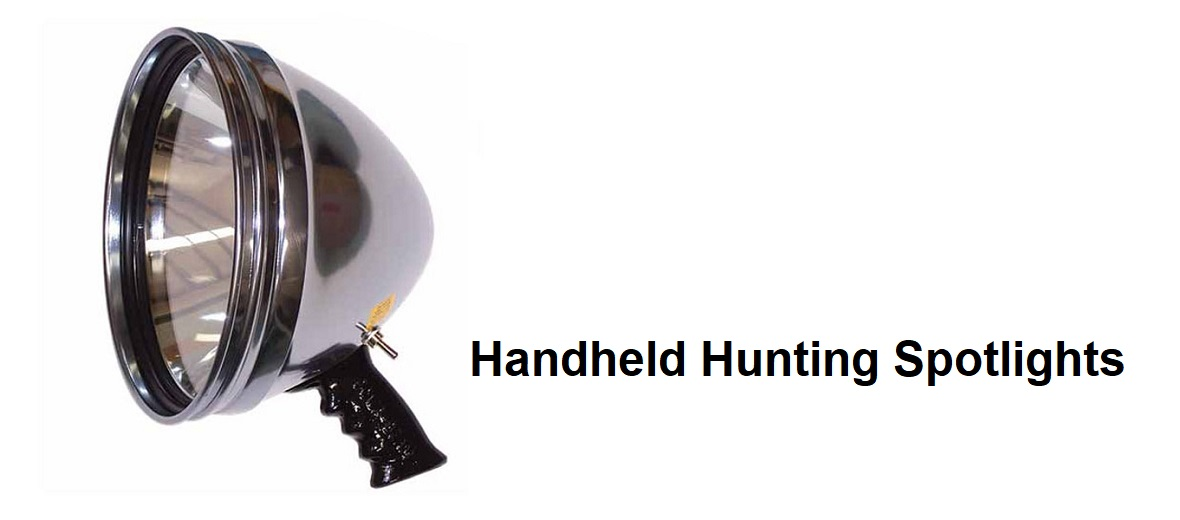Handheld Hunting Spotlights